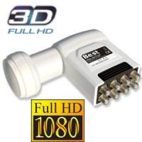HQDL 808 OCTO 3D und FULLHD-tauglich